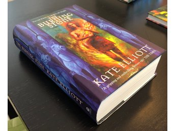 The Burning Stone (inbunden), del 3 i Crown of Stars, av Kate Elliot