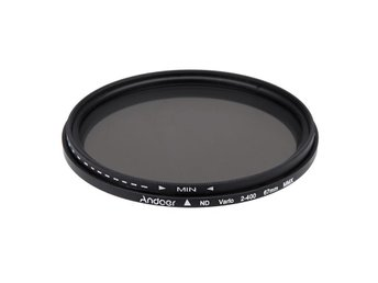 ND-filter ND2-ND400 Andoer 67mm