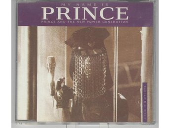 PRINCE AND THE NEW GENERATION MY... 1992 RARE CD MAXI SINGEL