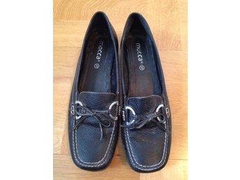 Loafers ballerina skor svarta äkta läder skinn - Mocca 37 - Stockholm - Loafers ballerina skor svarta äkta läder skinn - Mocca 37 - Stockholm
