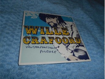 Wille Crafoord - Vänsterprasslande pundare (CD-singel) NM/VG++