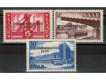 Saar Volksbefragung 3v.kpl/* 1955 - Nybro - Saar Volksbefragung 3v.kpl/* 1955 - Nybro
