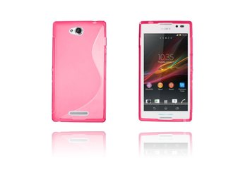S-Line (Rosa) Sony Xperia C Skal