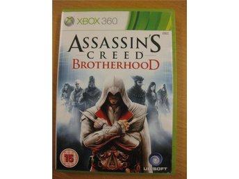 ASSASSINS CREED BROTHERHOOD - KOMPLETT XBOX360 SPEL - Hörby - ASSASSINS CREED BROTHERHOOD - KOMPLETT XBOX360 SPEL - Hörby