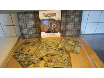 Dungeons&dragons.Dungeon Tiles Master set *The Dungeon*  Toppskick.
