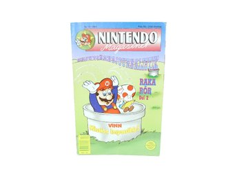 Nintendo Magasinet Nr 10 1991 med power play bilaga