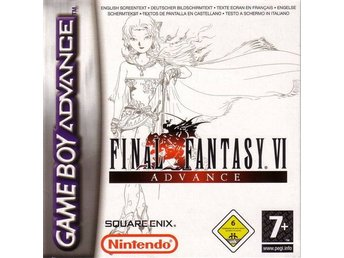 Final Fantasy VI Advance - Gameboy Advance - Varberg - Final Fantasy VI Advance - Gameboy Advance - Varberg
