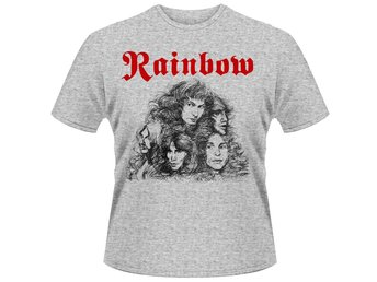 RAINBOW LONG LIVE ROCK & ROLL (GREY) T-Shirt - XX-Large