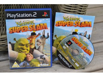 Shrek: Super Slam PS2 Playstation 2 Komplett Fint Skick