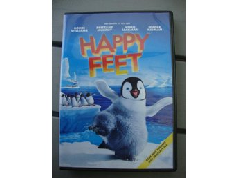Happy Feet DVD svensk text