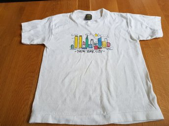 T shirt New York City 10-12 år