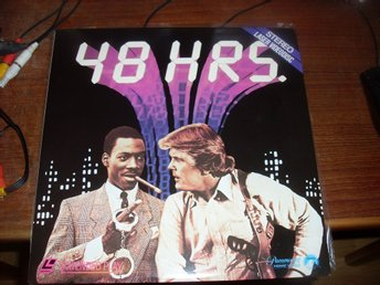 48 hrs Laserdisc nick nolte eddie murphy brion james ntsc komedi action