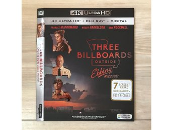Three billboards outside Ebbing 4K slipcover (BARA SLIPCOVER )