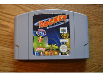 N64 Nintendo 64 ,Rocket: Robot on wheels