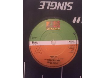 "7"" singel Gwen McCrae - doin it — atlantic a 9901 ""mega rare!!"