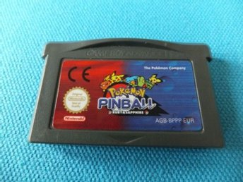 Pokemon Pinball Ruby & Sapphire - Gameboy Advance