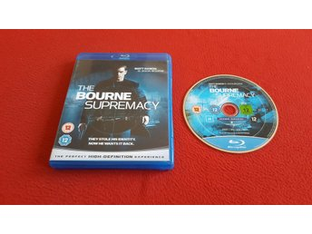 THE BOURNE SUPREMACY till Blu-Ray Bluray