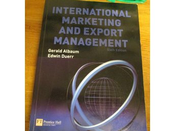 Ekonomi, Gerald Albaum, International marketing and export management, 2008