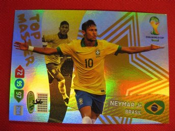 TOP MASTER - NEYMAR JR. - WC BRASIL 2014