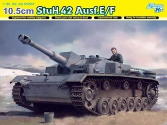 Dragon 1/35 10.5cm StuH.42 Ausf.E/F - Smart Kit