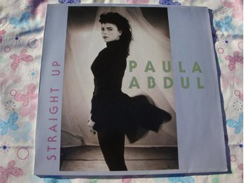 "PAULA ABDUL - STRAIGHT UP 12"" 1988 POP/ROCK CLUB"