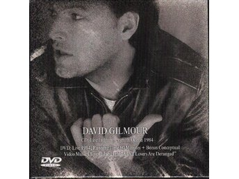 DAVID GILMOUR - Hammersmith Odeon 1984 (CD+DVD) NEW SEALED - Minsk - DAVID GILMOUR - Hammersmith Odeon 1984 (CD+DVD) NEW SEALED - Minsk