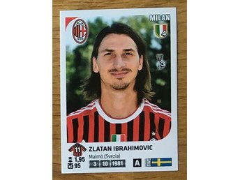 Zlatan Ibrahimovic, Milan - Panini Calciatori 2011-12 - Nr 312 - Alingsås - Zlatan Ibrahimovic, Milan - Panini Calciatori 2011-12 - Nr 312 - Alingsås