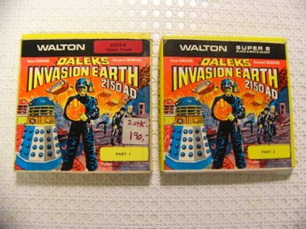 Daleks Invasion Earth 2150 AD-Part 1&2-Peter Cushing-Dr.Who-Walton Film-Super 8