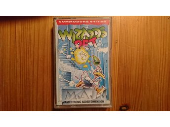 COMMODORE 64 originalspel... WIZARDS PET