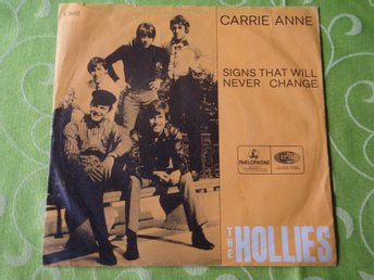 "HOLLIES THE - CARRIE ANNE 7"" 1967"