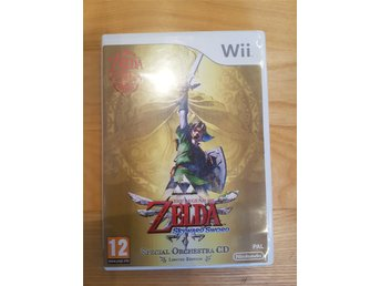 Nintendo wii spel The legend of Zelda