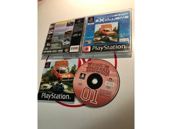 Dukes or Hazzard Racing for Home PlayStation 1 PSOne PSX PS1 Komplett