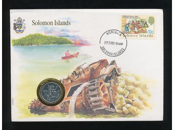 Solomon Islands Myntbrev se bild