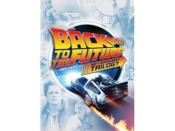 Tillbaka Till Framtiden - Back to the Future Trilogy - Se Text - DVD Box