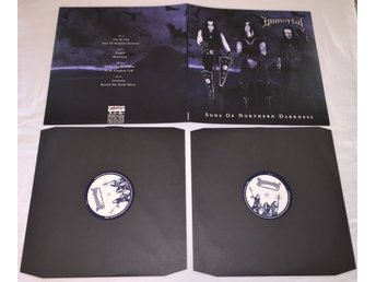 "Immortal 2LP 2002/2008 ""Sons Of Northern Darkness"" NY&OSPELAD!"