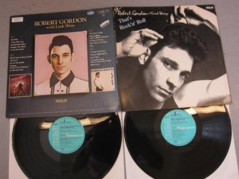 ROBERT GORDON with LINK WRAY - THAT´S ROCK'N'ROLL (DLP) EXC