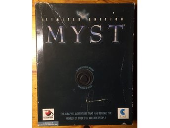 Myst Limited edition big box utgåva (PC BEG!)