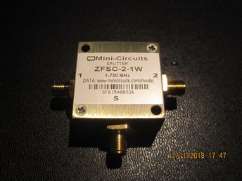 Koaxial Power Splitter Mini-Circuits