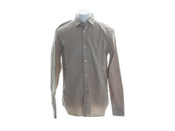 East West, Skjorta, Strl: L, SLIM FIT, Beige