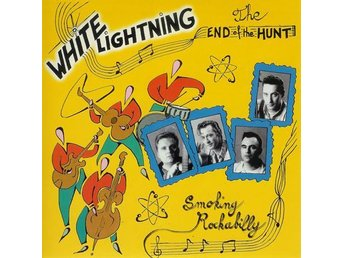White Lightning - End Of The Hunt EP - 7'' NY