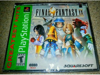 Final Fantasy IX Factory sealed Greatest hits versionen PSX