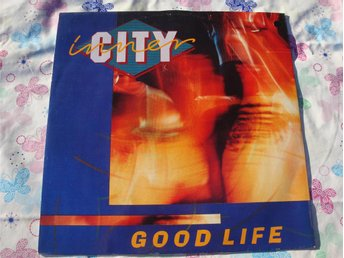 "INNER CITY - GOOD LIFE 12"" 1988 POP/ROCK/ELECTRONIC"
