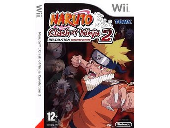 Naruto Clash of Ninja 2 Revolution Nintendo Wii