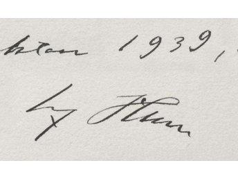 Min Kamp Mein Kampf 1927 Adolf Hitler autograf signatur första upplagan - Warszawa - Min Kamp Mein Kampf 1927 Adolf Hitler autograf signatur första upplagan - Warszawa