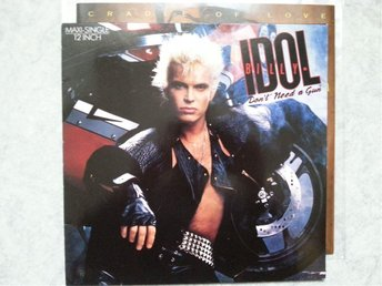 BILLY IDOL - DONT NEED A GUN + CRADLE OF LOVE