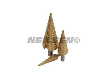 3 pc Step Drill Set ( Cone Drills ) 4mm - 32mm