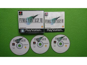 Final Fantasy 7 KOMPLETT Playstation 1 PSone ps1