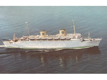 "M/S ""Kungsholm"" Cruise of Lifetime around the world.Posted on board 21.1.80"