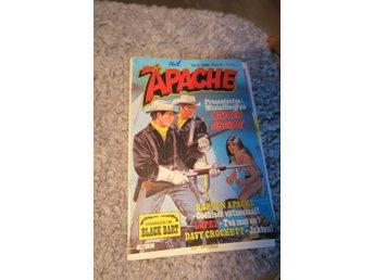 APACHE,TOMAHAWK,BLACK BART,DAVY CROCKETT - Upplands Väsby - APACHE ! AFFISCH KAPTEN APACHE! NR 5, 1980, SANNINGEN OM BLACK BART! MYCKET BRA SKICK! JAG SAMFRAKTAR! - Upplands Väsby