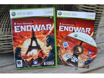 Tom Clancy's EndWar Xbox 360 Komplett (End War) Fint Skick